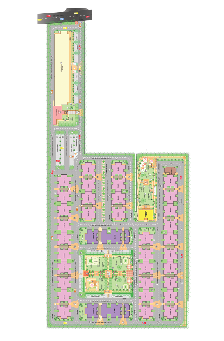 Global Heights Master Layout Plan